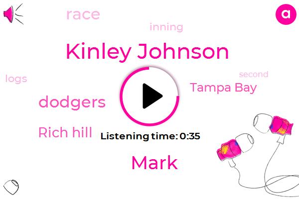 Dodgers,Kinley Johnson,Rich Hill,Tampa Bay,Mark