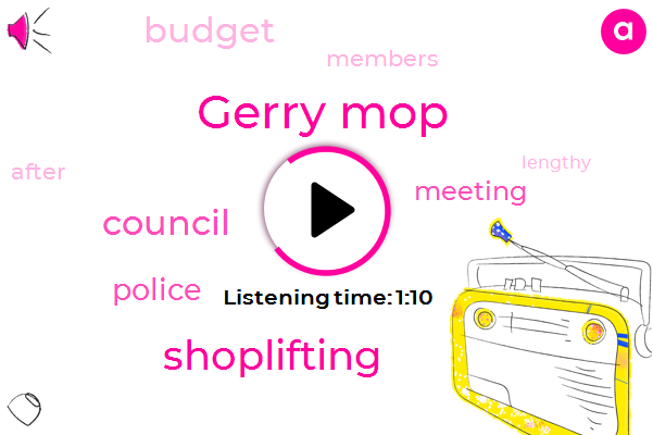Gerry Mop,Shoplifting,Seven Hundred Twenty One Million Dollar