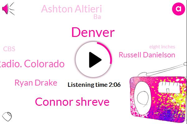 Denver,Connor Shreve,Newsradio. Colorado,Ryan Drake,Russell Danielson,Ashton Altieri,BA,CBS,Eight Inches,Thirty Nine Degrees
