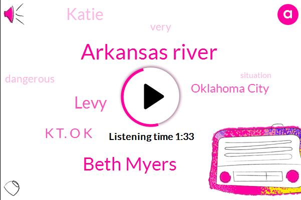 Arkansas River,Beth Myers,Levy,K T. O K,Oklahoma City,Katie