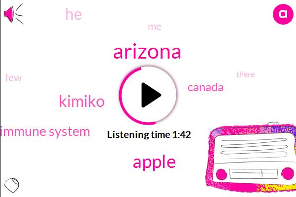 Arizona,Apple,Kimiko,Immune System,Canada