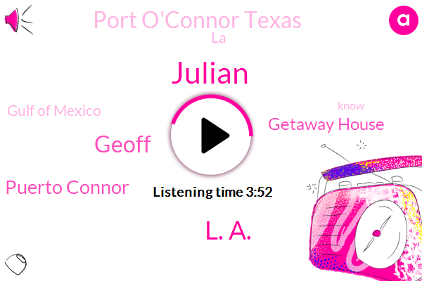 Listen: Need WiFi? Park in front of the Port O'Connor, Texas library