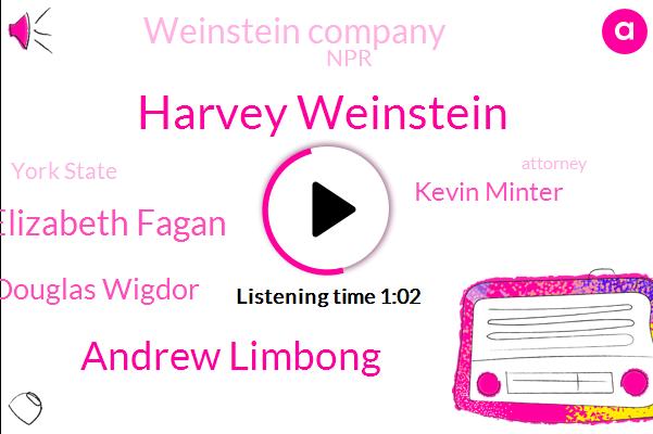 Harvey Weinstein,Weinstein Company,Andrew Limbong,NPR,Elizabeth Fagan,Douglas Wigdor,York State,Kevin Minter,Rape,Attorney,Hollywood