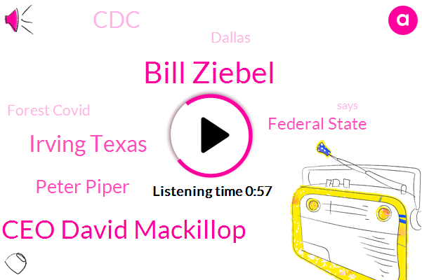 Bill Ziebel,Ceo David Mackillop,Forest Covid,Irving Texas,Peter Piper,Dallas,Federal State,CDC