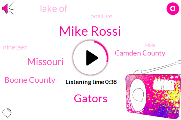 Mike Rossi,Missouri,Boone County,Gators,Lake Of,Camden County