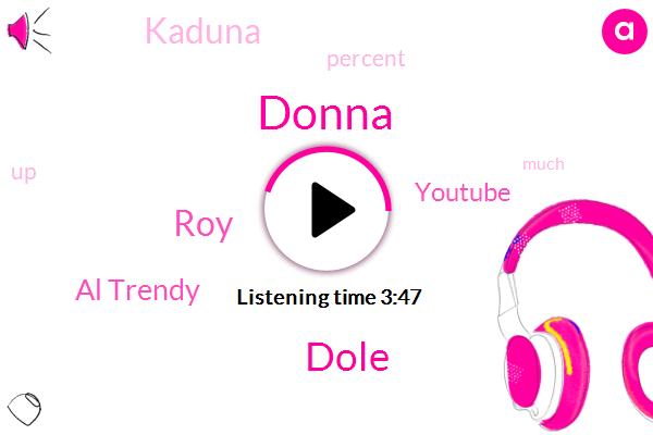 Donna,Kaduna,Al Trendy,Dole,Youtube,ROY