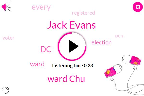 DC,Jack Evans,Ward Chu