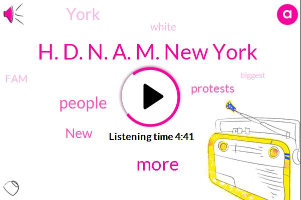 H. D. N. A. M. New York