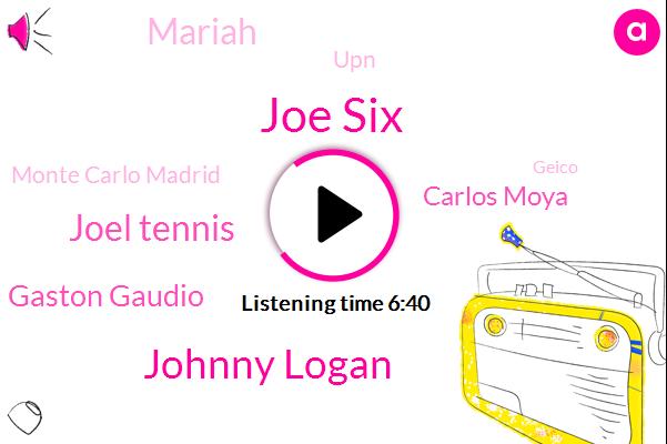 Korea,Joe Six,Johnny Logan,Rome,Joel Tennis,Rotterdam,UPN,Monte Carlo Madrid,Geico,Lubbock,Tennis,Gaston Gaudio,Madrid,Irvine,Monte Carlo,Carlos Moya,Mariah,Raffarin
