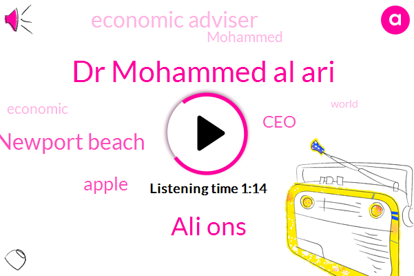 Dr Mohammed Al Ari,Economic Adviser,CEO,Newport Beach,Ali Ons,Apple