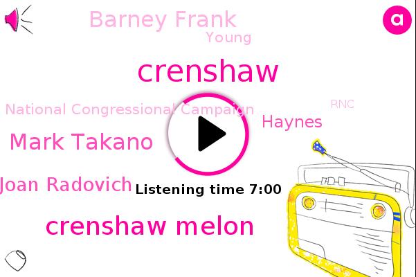Washington Dc,Senator,Right Haynes,Riverside County,Wanna,RNC,Joan Radovich,Barney Frank,Mark Takano,Reporter,CEO