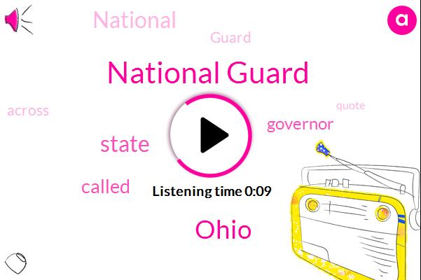 National Guard,Ohio