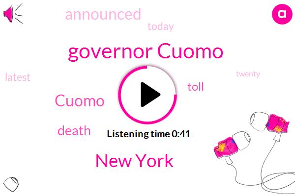 New York,Governor Cuomo