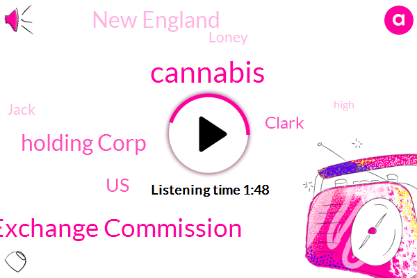 Exchange Commission,Cannabis,Holding Corp,United States,Clark,New England,Loney,Jack