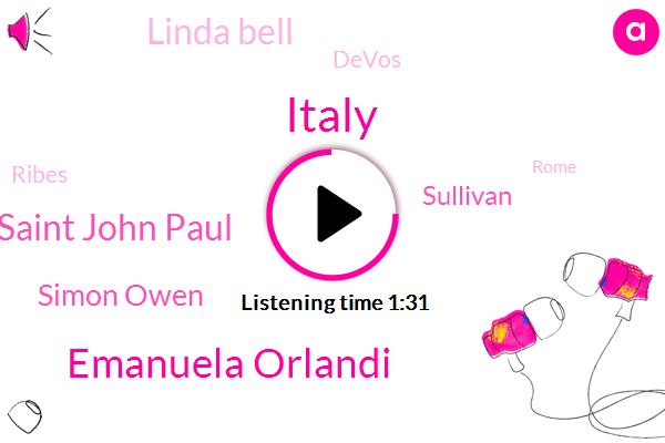 Italy,Emanuela Orlandi,Saint John Paul,Simon Owen,Sullivan,Linda Bell,Devos,Ribes,Rome,FOX,London,Thirty Five Years,Sixty Months,Five Years