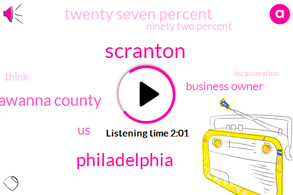 Philadelphia,Lackawanna County,Scranton,Business Owner,United States,Twenty Seven Percent,Ninety Two Percent