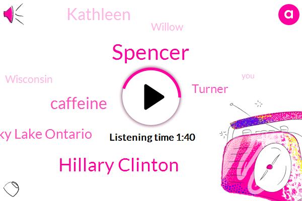 Spencer,Hillary Clinton,Caffeine,Ricky Lake Ontario,Turner,Kathleen,Willow,Wisconsin
