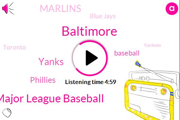Baltimore,Major League Baseball,Yanks,Phillies,Baseball,Marlins,Blue Jays,Toronto,Yankees,Mets,Boston,Citizens Bank Park,Jacob Degrom,Brian Cashman,Yankee Stadium,Cuomo Cuomo,Fenway,Miami,Donald Trump,York