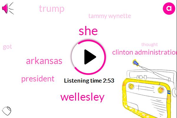 Wellesley,Arkansas,President Trump,Clinton Administration,Donald Trump,Tammy Wynette