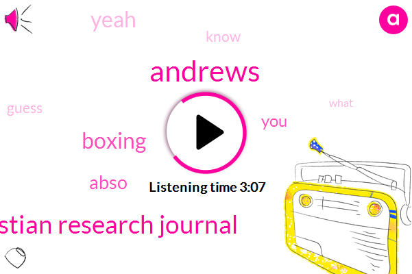 Andrews,Christian Research Journal,Boxing,Abso