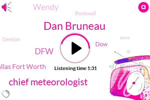 Dan Bruneau,Chief Meteorologist,DFW,Dallas Fort Worth,DOW,Wendy,Rockwall,Denton,Plano,Forty Degrees