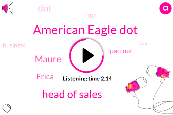 American Eagle Dot,Head Of Sales,Maure,Erica,Partner,Chicago