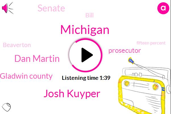 Michigan,Josh Kuyper,Dan Martin,Gladwin County,Prosecutor,Senate,Bill,Beaverton,Fifteen Percent,Fifteen Years