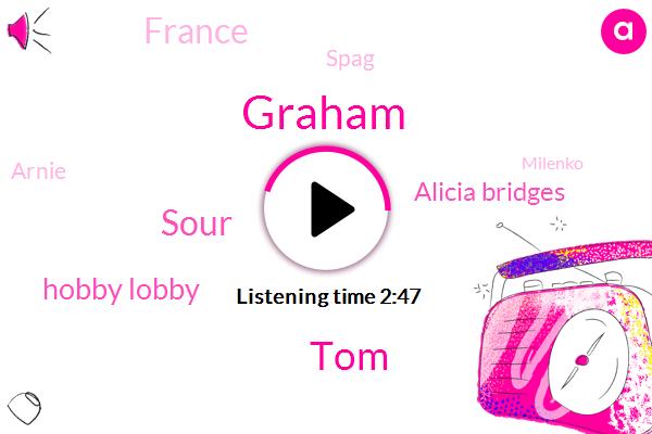 Graham,TOM,Sour,Hobby Lobby,Alicia Bridges,France,Spag,Arnie,Milenko,Kazaa,Chretien,Melinda