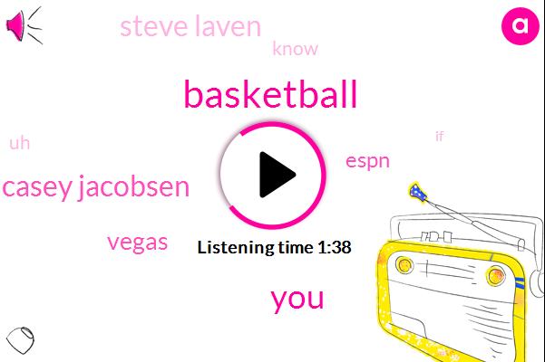 Basketball,Casey Jacobsen,Vegas,Espn,Steve Laven