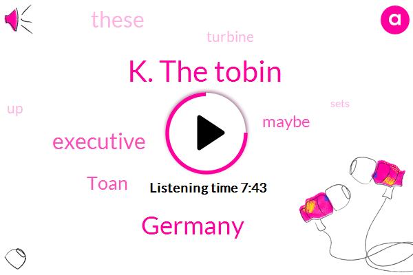 K. The Tobin,Germany,Executive,Toan