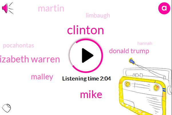Clinton,Mike,Martin O'malley,Elizabeth Warren,Donald Trump,Limbaugh,Official
