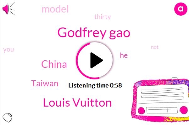 Godfrey Gao,China,Taiwan,Louis Vuitton,Three Hours