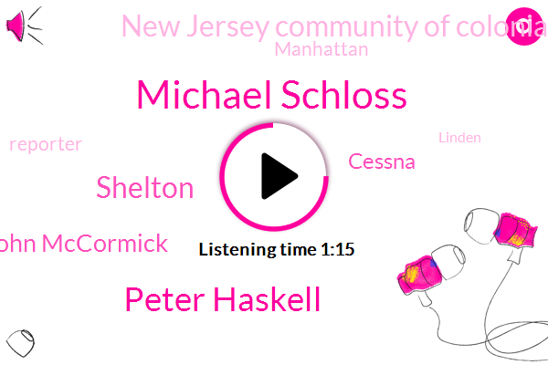 Michael Schloss,Peter Haskell,Cessna,Shelton,John Mccormick,New Jersey Community Of Colonia,Manhattan,Reporter,Linden,Woodbridge,Colonia Peter,Wcbs,Seventy Four Year,Thirty Forty Feet