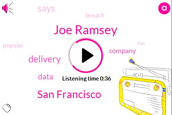 San Francisco,Joe Ramsey,Four Digits