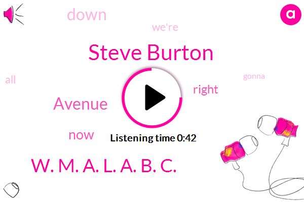 Steve Burton,W. M. A. L. A. B. C.,ABC