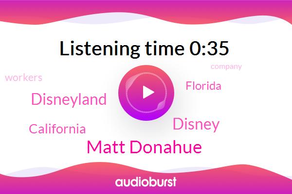 Disneyland,California,Disney,Florida,Matt Donahue