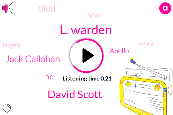 L. Warden,David Scott,Jack Callahan