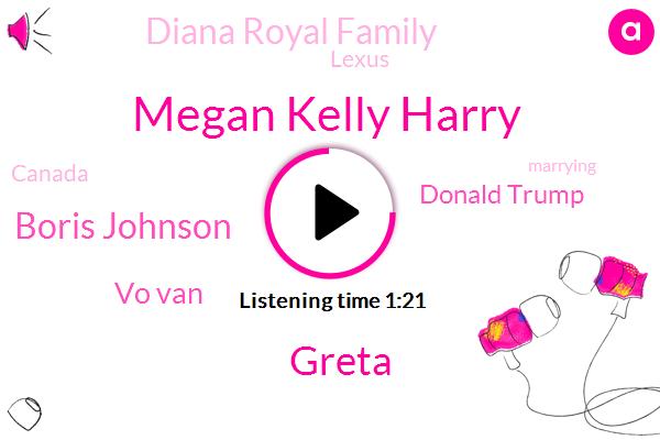 Megan Kelly Harry,Diana Royal Family,Greta,Boris Johnson,Vo Van,Lexus,Donald Trump,Canada