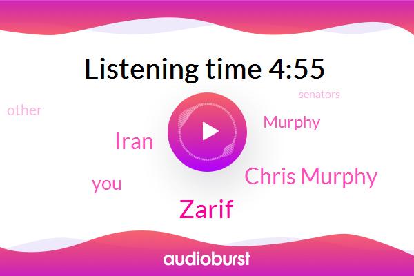 Chris Murphy,Zarif,Iran