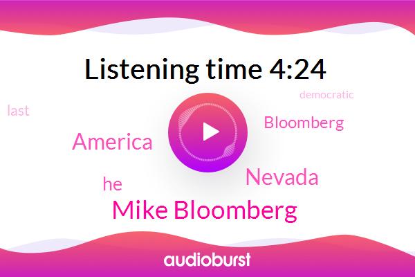 Mike Bloomberg,Nevada,America