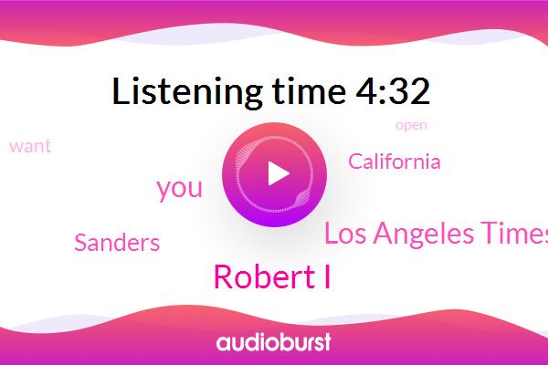 Robert I,Los Angeles Times