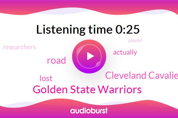 Golden State Warriors,Cleveland Cavaliers
