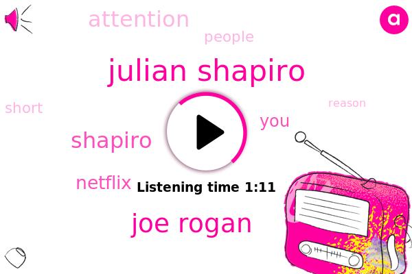 Julian Shapiro,Joe Rogan,Netflix,Shapiro