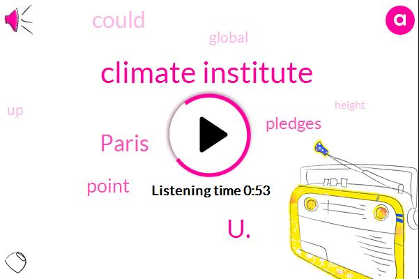 U.,Paris,Climate Institute