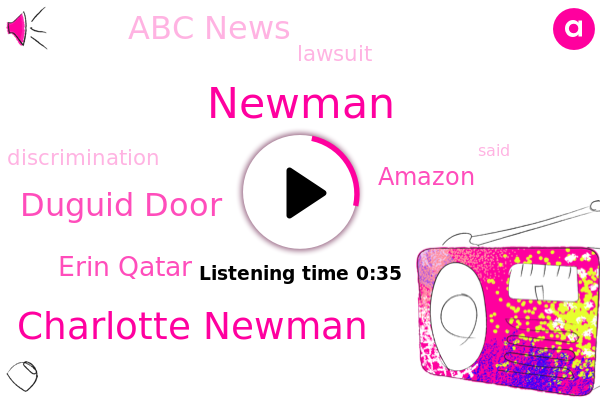 Amazon,Charlotte Newman,Duguid Door,Newman,Erin Qatar,Abc News