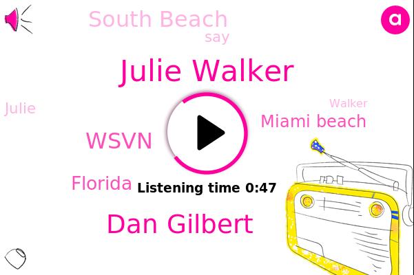 Julie Walker,Wsvn,Miami Beach,South Beach,Florida,Dan Gilbert