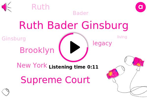 Ruth Bader Ginsburg,Supreme Court,New York,Brooklyn