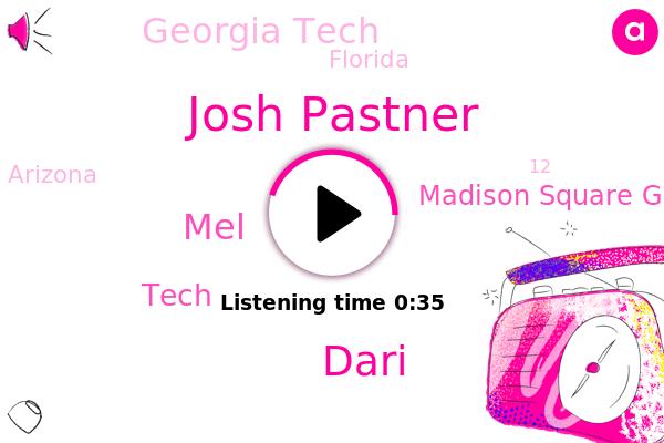 Josh Pastner,Madison Square Garden,Georgia Tech,Tech,Florida,Arizona,Dari,MEL,Espn
