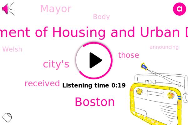 U. S. Department Of Housing And Urban Development,Boston