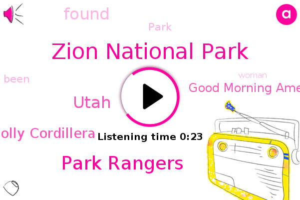 Zion National Park,Park Rangers,Holly Cordillera,Good Morning America,Utah
